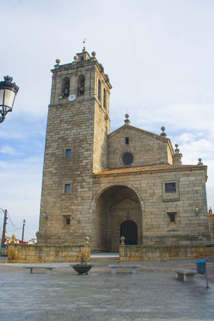 Architecture Building Exterior Built Structure Church Cloud Cloud - Sky Day España Exterior Historic Iglesia Low Angle View Nature Navamorcuende No People Outdoors Sky SPAIN Toledo