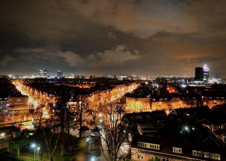 Night Lights Amsterdam City North