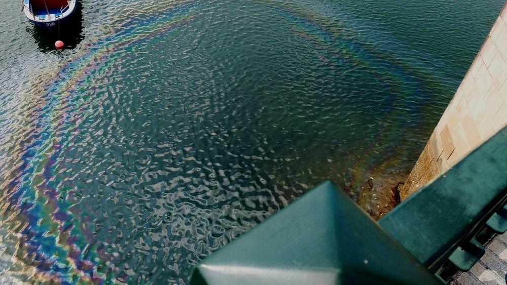 Water Nature Rainbow Circular Rainbow Sea