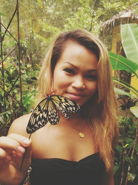 Check This Out Hello World Enjoying Life Butterfly