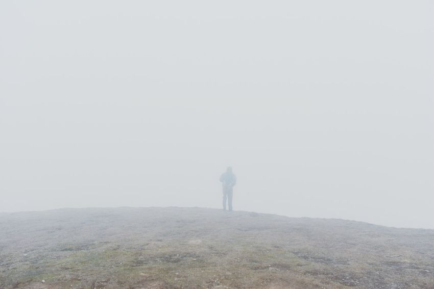 EyeEm Best Shots EyeEm Nature Lover Eyeeem Gallery EyeEm EyeEm Selects EyeEm Gallery Mist Cloudy Hiker Hiking Lonely Lone Hillwaller
