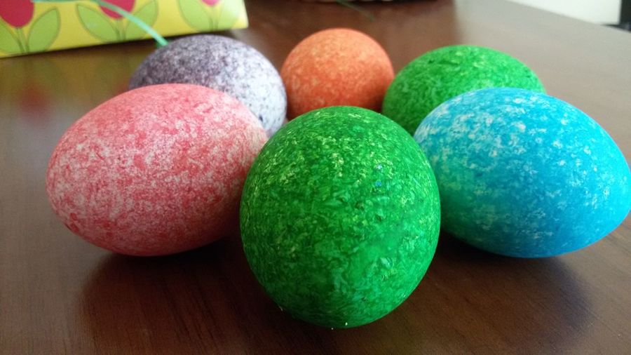 Close-up of colorful balls