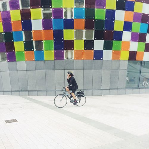 Glass Wall Color Explosion IPhoneography Taking Photos VSCO