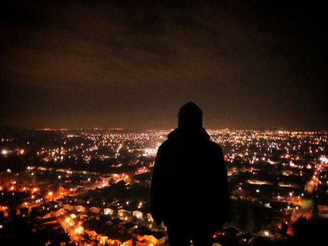 la cima City Cityscape Silhouette Rear View Landscape First Eyeem Photo