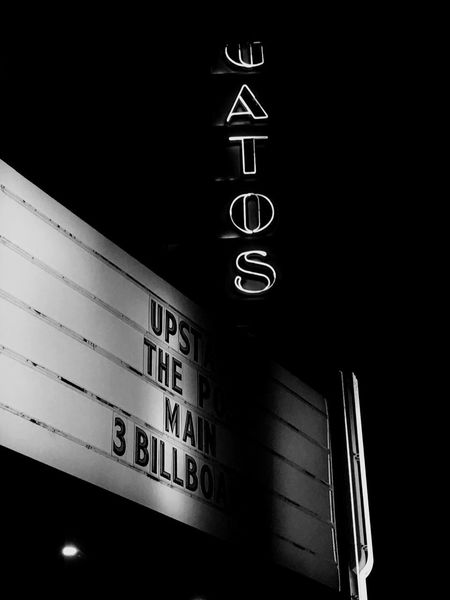 Nothing quite like the old time films Old Movie Theaters Number Text Communication No People Time Close-up Indoors