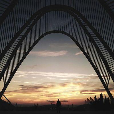 •Achieve Anything Always• • Tones Igmasters Aboutgreece In_athens sky sunset architecture Athens Greece justgoshoot gold lumia lumia1020 vsco vscocam vscophile nature nokia