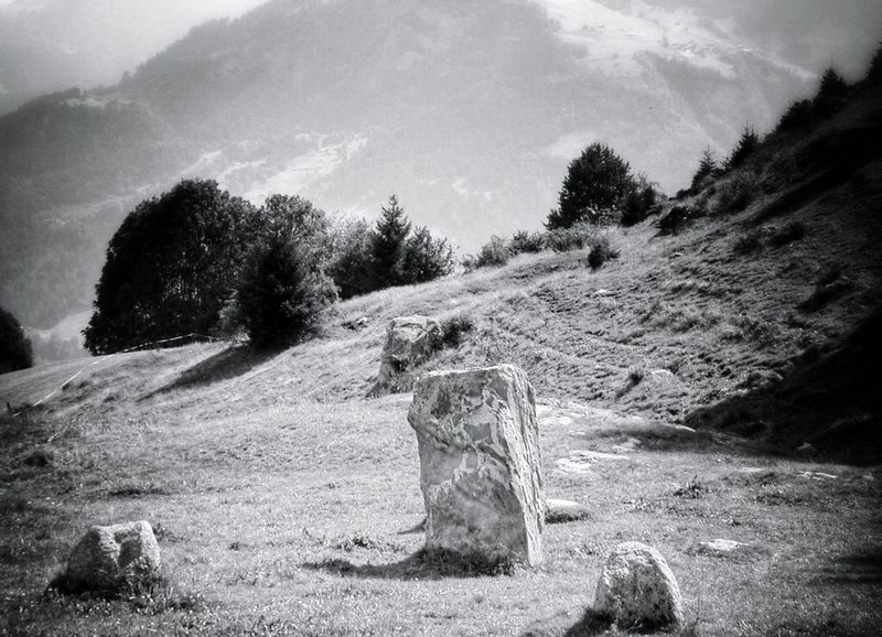 old Foto...No People Beauty In Nature Cultural Heritage Old Culture Tranquility Taking Photos Black And White Photography Black&white Black & White Monochrome Photography Monochrome Collection Landscape_Collection Landscape_photography Blackandwhite Photography Monochrome _ Collection Menhir Menhires Celtic Legends Religion And Beliefs Religion Mountain Stone Circle Monochrome Photograhy Cloud - Sky Landscape Been There. Done That. Lost In The Landscape