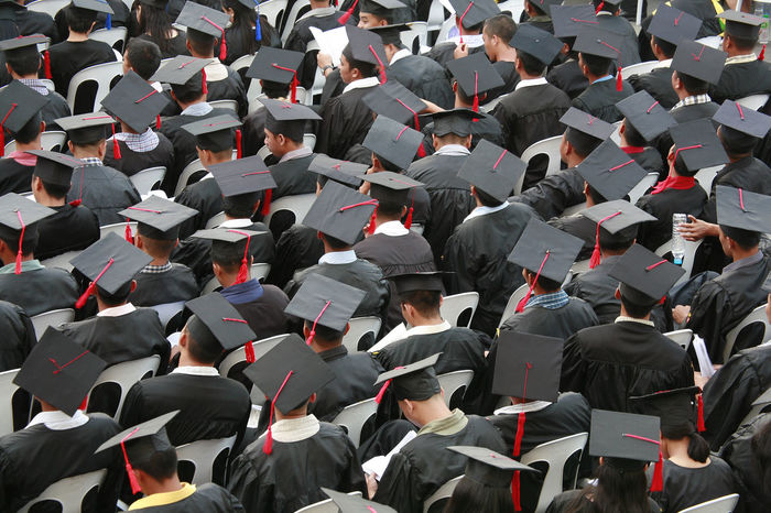 Graduation Day Achievement ASIA Campus Celebration College Conformity Crowd Degree Diploma Education Graduation Graduation Graduation Day Graduation Gown Hats Large Group Of People Masters Degree Mortar Boards Mortarboard Philippines Pride Student Success University Student