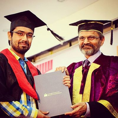 Convocation Graduated Honors In Electrical Engineering Happy Moments Photo For Life Degree Great Time Awesome Peace Iith Iith15 Director Smile