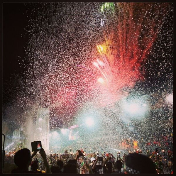 Mission accomplished!!! A sense of satisfaction...Chingay Chingayparade Chingay2013