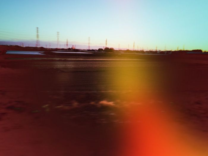 No People Clear Sky Evening Everything In Its Place Train Window Beauty In Nature Rural Scene IPhoneography Snap Snapshot Snapshots Of Life EyeEmNewHere Transportation Blur Nonurban