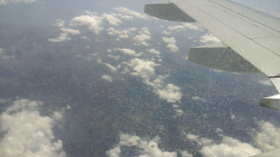 Panamá Vuelo Entre Las Nubes