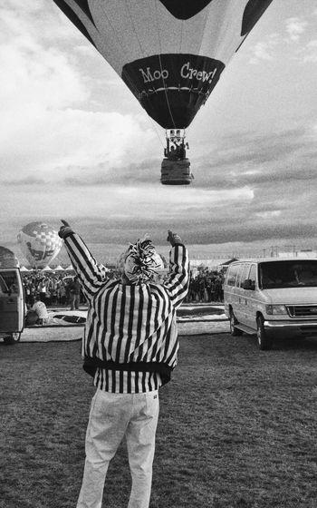 Monochrome Photography Balloon Fiesta 2016 Zebra Hot Air Balloon Balloon Launches Mike Jeglic