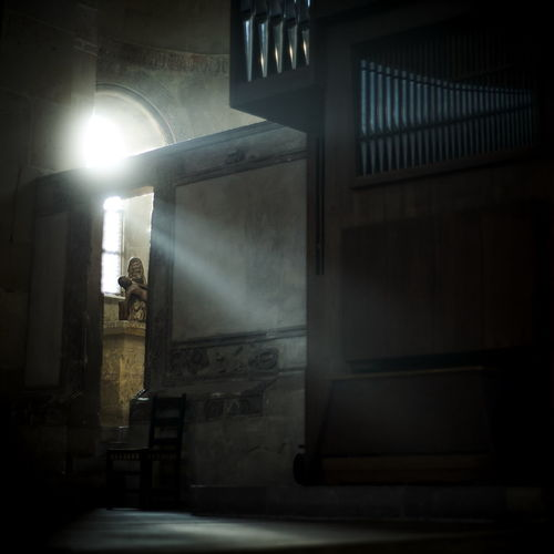 Architecture Built Structure Day Illuminated Indoors  No People Place Of Worship Spirituality Spooky Steps
