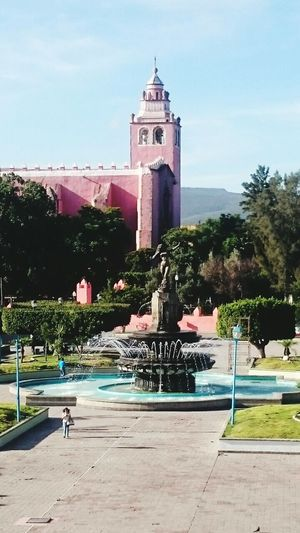Fuente De La Diana en IxmiquilpanHgo Parriquia De El Señor De Jalpan