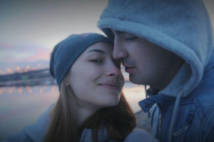 День заката Tenderness River Sunset My Love❤ My Tenderness