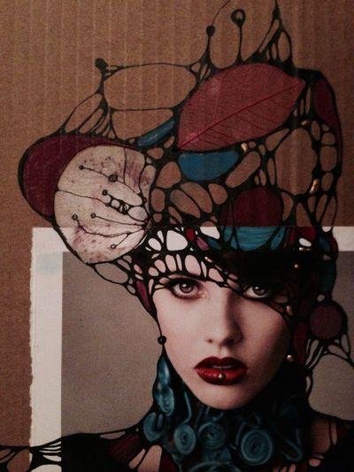 Portrait Art Flower Fantasy Colourportrets