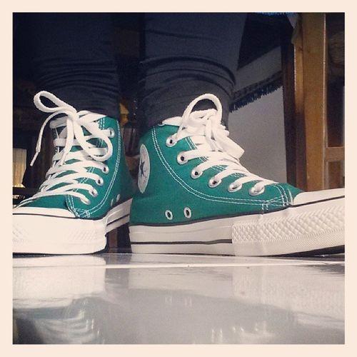 Converse Allstar Green Newmodel favoriteshoes