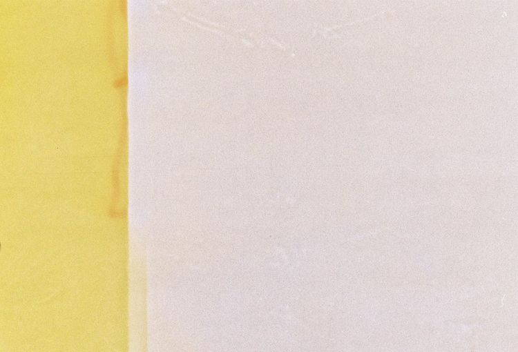 Close-up of yellow paper