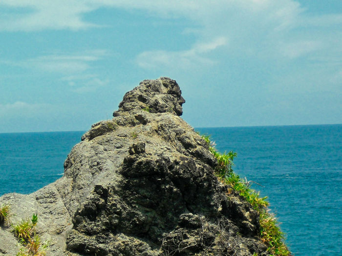 The Rock like a man. Siung Beach, Gunung Kidul, Yogyakarta, Indonesia. Sea Water Sky Beauty In Nature Rock Horizon Horizon Over Water Nature Rock - Object Scenics - Nature Day Solid Tranquility Tranquil Scene Land Rock Formation Beach No People Outdoors Stack Rock EyeEm Best Shots EyeEm Selects EyeEm Nature Lover Nature Beauty In Nature