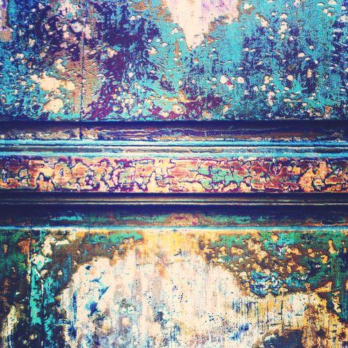 Mur Wall Textures And Surfaces Patines Muro  Doors Doorporn Portes Closeup Vintage Door