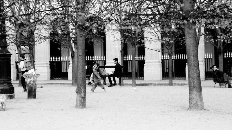 Paris RePicture Travel Black And White Blackandwhite Black & White Running Running Late