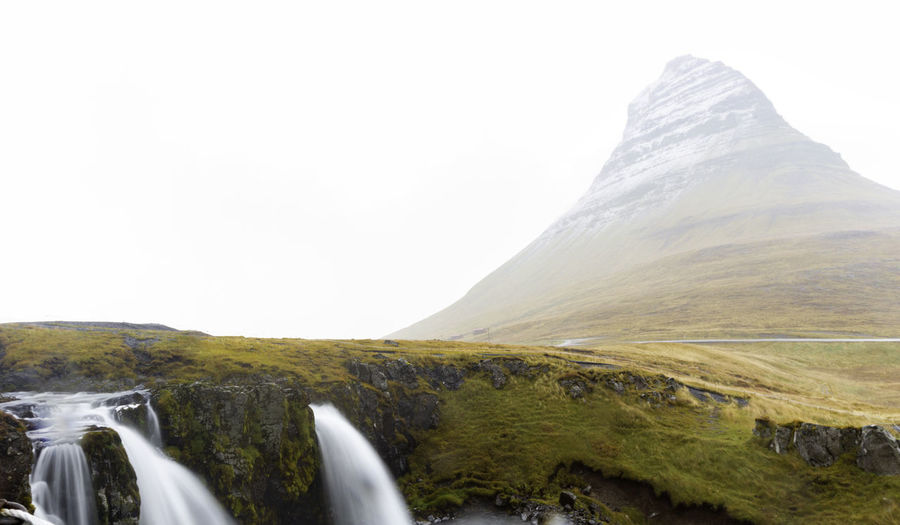 Scenics - Nature Mountain Land Nature Landscape Beauty In Nature No People Day Tranquility Outdoors Grass Remote Kirkjufell Kirkjufellsfoss Iceland Memories Iceland Roadtrip Europe Travel