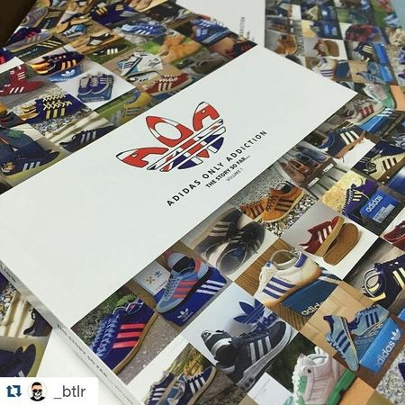 Repost @_btlr with @repostapp ・・・ All 400 individually numbered AOA books are accounted for but this is your final chance to get your hands on one. Book number 386. Entry is £2.50 per ticket and all proceeds go to Macmillan and Children with Autism. Raffle will close at 6pm Friday 5th February with the winner being notified by email later that day. Enter the raffle now at; http://aoatop5.bigcartel.com 3streifen Adidas Adidasog Adidasoriginals Adidasarchive Sizeofficial Trainers Threestrips Trefoil Sneakerholics Sneakerphotoaday Igsneakercommunity Vintageweek Womft WDYWT Adidasgallery Adidasphotohub Vinadiarc