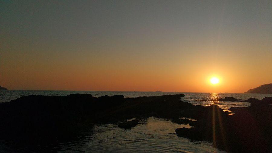 Sunset! Sunset