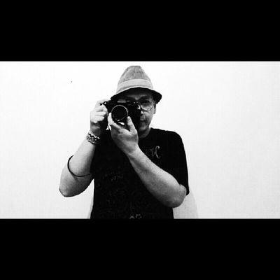 Me & photograph Hat Laken Yashica Fr1 analog analoglove selfie photo
