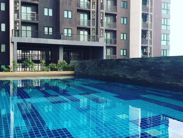 Architecture Building Exterior Swimming Pool Built Structure Modern City Outdoors Skyscraper Window Day Water No People