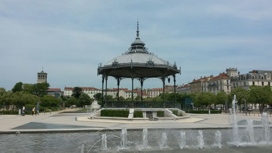Bandstand Fountain