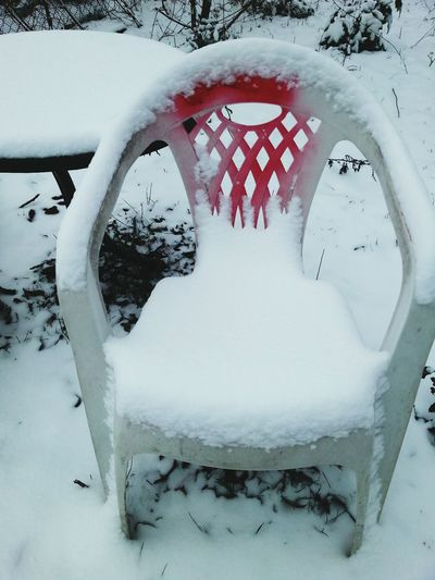 PhotoArt By Kitty Fischer Chairs_in_snow Winter Time Cold Days Chairs And Tables Chair In Garden