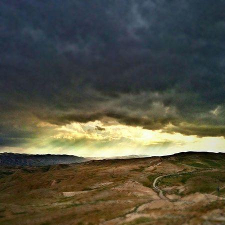 PhonePhotography Sjmike Israel Idf Meizumx4 Lights Beautiful Clouds Sky Mountain