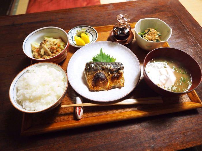 Kyoto Japan Rojiusagi Lunch Lunch Time Fish Mackerel Delicious Food Japanese Food Olympus PEN-F 京都 日本 ろじうさぎ 昼ごはん 魚 鯖 日本食
