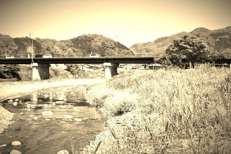 Bridge - Man Made Structure Mountain Connection Outdoors Water Tree Nature No People Mountain Range Day Landscape Architecture Scenics Sky