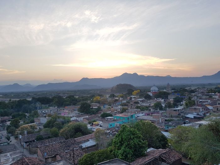Tlapehuala Guerrero, México Tranquility Tlapehuala High Angle View Mountain Range Landscape Mountain Tree Sunset Town Panoramic Lake Sky Beauty Rural Scene Outdoors First Eyeem Photo