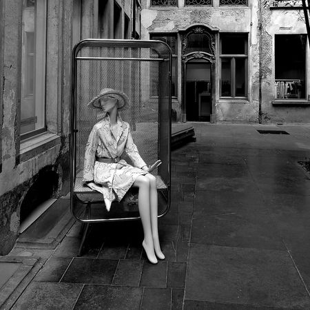 Blackandwhite Photography Fashion Maniquie