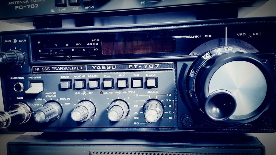 80 Yaesu Anni80 Years80 Cb Transceiver Meter Bands LED Led Screen 70's 80's Ssb Antenna Am Trasmitter Frequency Frequence Audio Amateur RadioStation Amateur_radio Radio Mauvintage