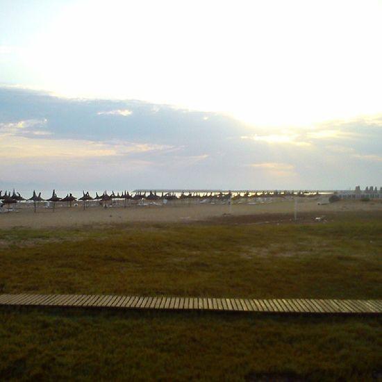 Early morning. Sun is shining. Saidia