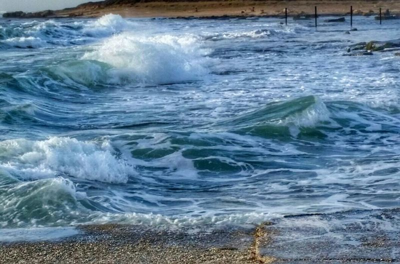 Rolling Waves Color Of Life Summertime Tide Is In In Movement Mediterranean SeaMotion Capture Textures In Nature Blue And Green Moody Nature Escape Protecting Where We Play