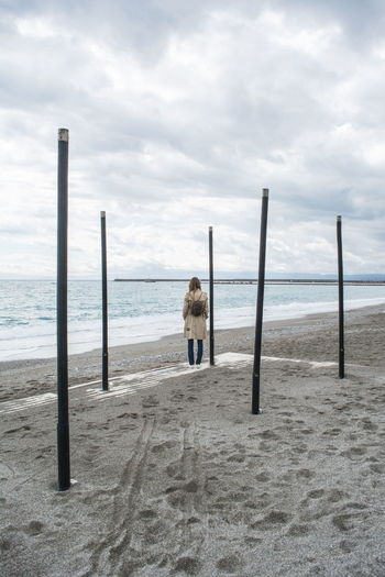 50 Ways Of Seeing: Gratitude Sea Water Sky Cloud - Sky Horizon Rear View Nature Day Outdoors Beauty In Nature Horizon Over Water Kalamata Greece Girl It's About The Journey