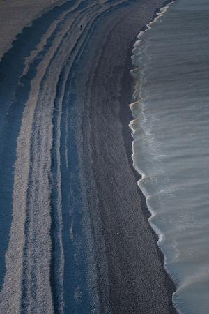 Lines Pebble Beach Seascape Photography Sony A7RII Bossington Beach Camshy Sea