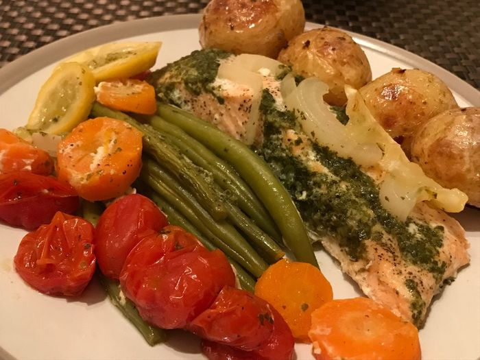 Dinner Time My Wife Is Head Chef Ready-to-eat Salmon Oven-baked Delicious Photography Food And Drink Food Healthy Eating Seafood Art By Laziz London Photography