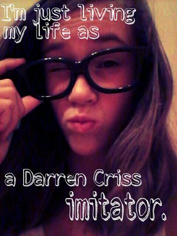 DarrenCriss Me As A Perfekt Imitator Living In Bad Dürkheim