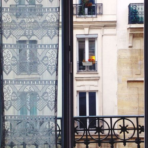 Paris Architecture Window