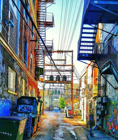 Urban Landscape Pattern Pieces Smartphone Photography Roadtrip Back Alleys Rapid City