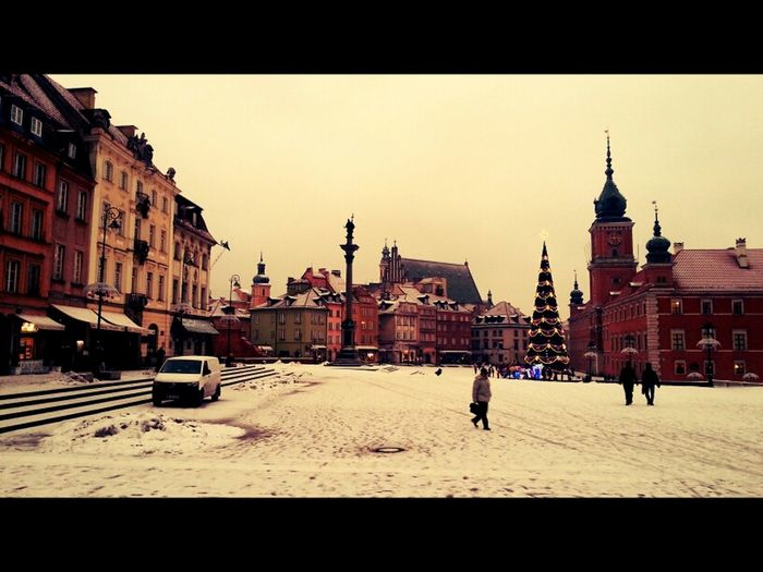 Scenery Dont Be Square Old Town Warsaw