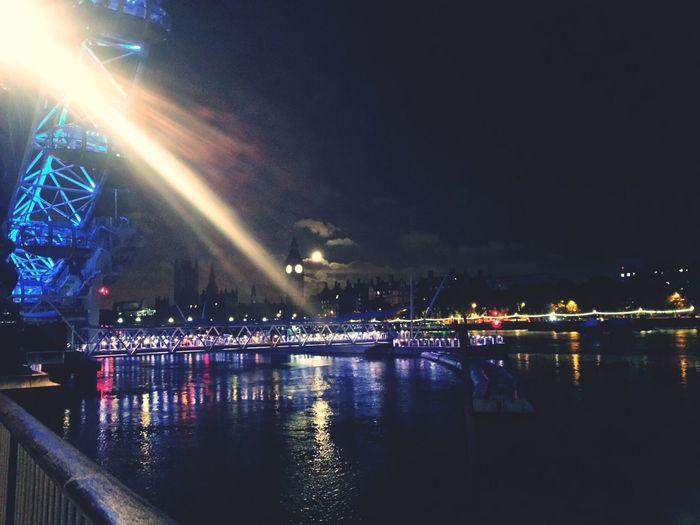 A beautiful night in London. London