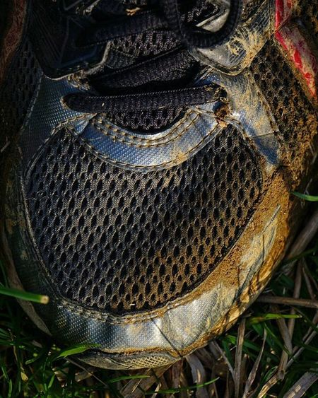 When your not watching where you step and fall into a mud puddle....yeah I was chasing a bird with the 210mm 😅 I did get the shot btw! . . . . Hikingwithdogs Hiking Spring Summer Adventures Sony Sonyalpha Sonya6000 Grass Grammasters3 Warrenjc Asics Exploredc Mkexplore Runningthrough Running Runningshoes Texture Mud Besomebody Getoutstayout Training 4kforcancer Dailyhiking